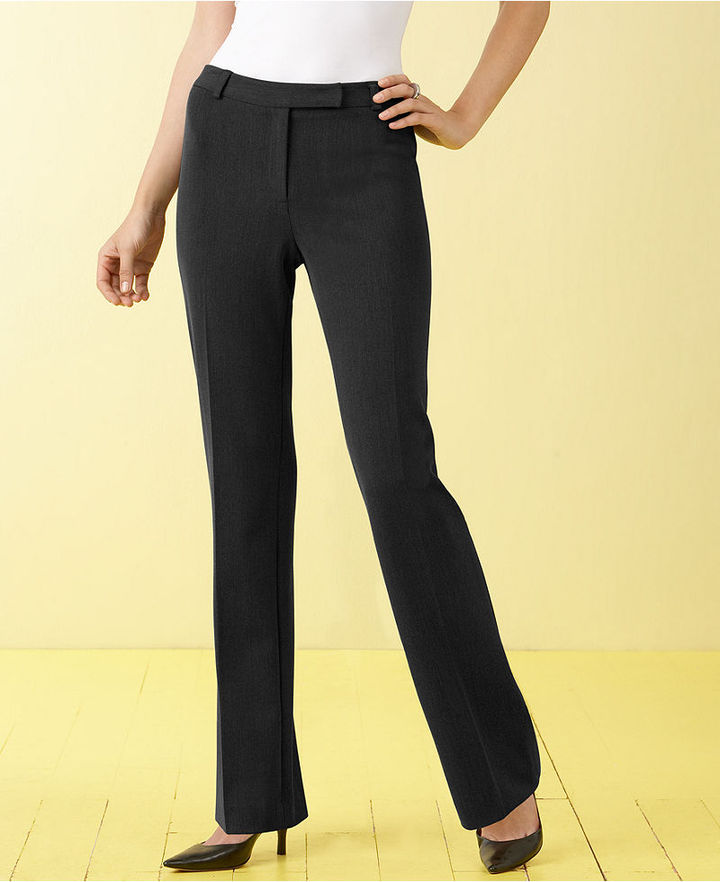 Charter Club Petite Pants, Slim It Up Classic Fit Straight Leg