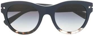 Valentino Eyewear large round sunglasses