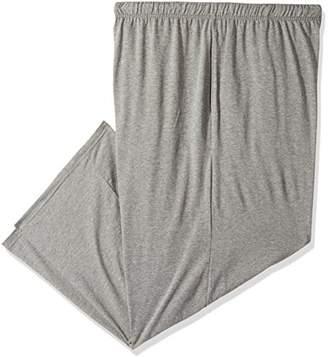 Hanes Men's Big Solid Knit Sleep Pant