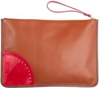 Sergio Rossi Leather Clutch Bag