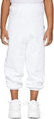 Balenciaga Girl White BB Lounge Pants