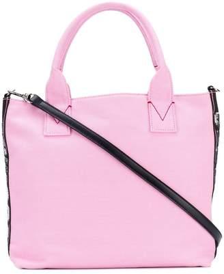 Pinko embellished brand tote bag