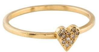 Ileana Makri 18K Diamond Love Ring