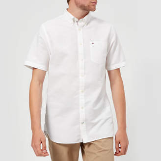 Tommy Hilfiger Men's Engineered Short Sleeve Shirt