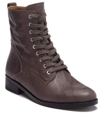 Lucky Brand Hestawn Leather Lace-Up Boot