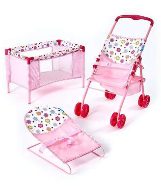 Hauck 3-In-1 Doll's Play & Care Set