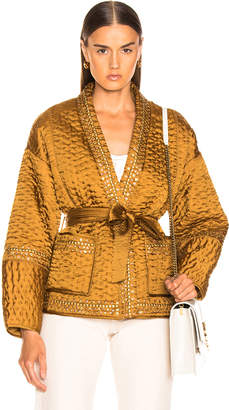 Ulla Johnson Sachi Jacket in Bronze | FWRD