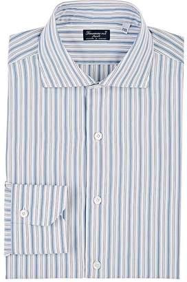 Finamore Men's Striped Cotton Shirt