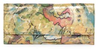 Hobo Sadie Trifold Leather Wallet