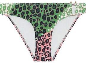 Printed Low-Rise Bikini Briefs