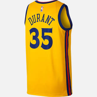 Nike Men's Golden State Warriors NBA Kevin Durant City Edition Connected Jersey