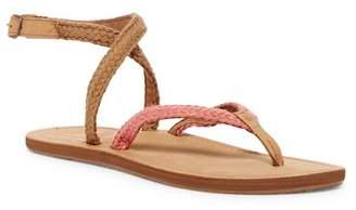 Reef Gypsy Wrap Blush Sandal (Women) $54 thestylecure.com