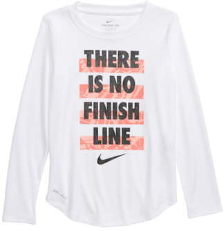 Nike There Is No Finish Line Graphic Dri-FIT Tee
