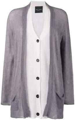 Roberto Collina layered mid-length cardigan