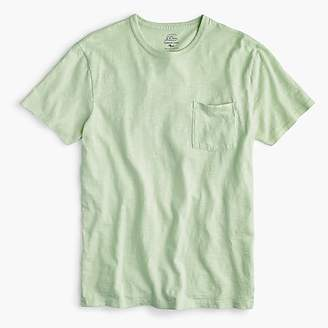 J.Crew Tall garment-dyed slub cotton crewneck T-shirt
