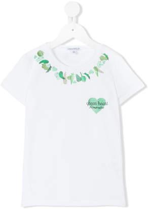 Simonetta Green Heart T-shirt