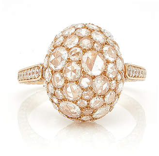 Sidney Garber Rosebud Rose Gold Ring