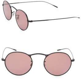 Oliver Peoples M-4 30TH 47MM Round Sunglasses