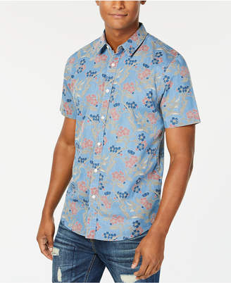 American Rag Men's Floral Branch Shirt