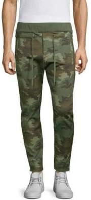 The Kooples Camo Jogger Pants