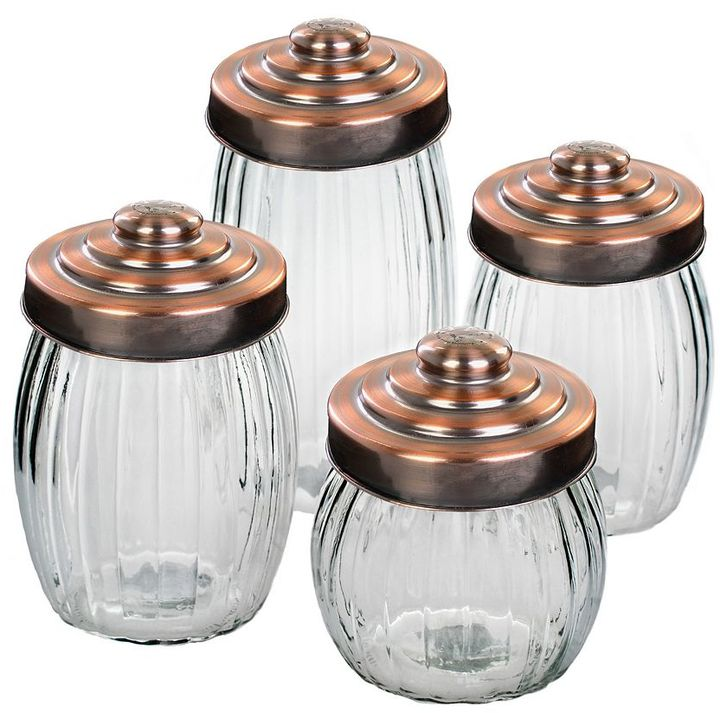 Global Amici Amici by pantheon 4-pc. kitchen canister set