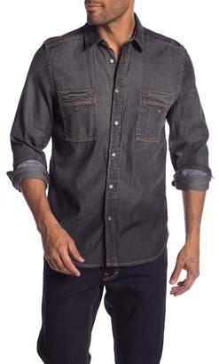 Gilded Age Chambray Stretch Denim Shirt
