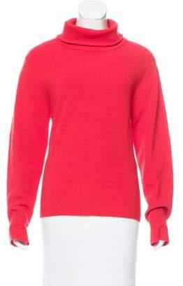 Apiece Apart Wool Funnel Neck Sweater