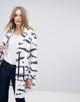 French Connection Tapir Wave Coat $151 thestylecure.com