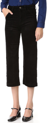 7 For All Mankind Culotte Corduroys $199 thestylecure.com