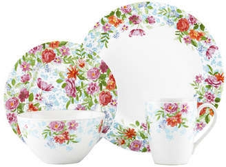 Kathy Ireland by Gorham Spring Bouquet 4 Piece Place Setting by