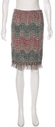 Missoni Wool Knee-Length Skirt