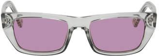 Le Specs Double Rainbouu Transparent Edition Cold Wave Sunglasses