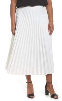 Glamorous Pleated Long Skirt