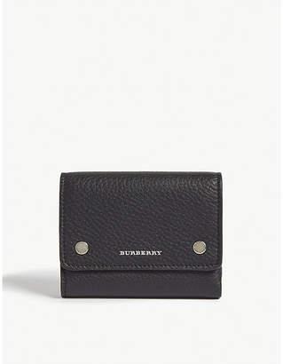 ac8db768de80 Burberry Ludlow grained leather wallet