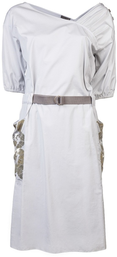 Sophie Theallet Sequined pocket dress