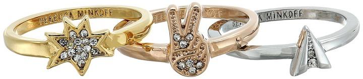 Rebecca MinkoffRebecca Minkoff - Charm Ring Set Ring