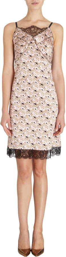 Nina Ricci Floral Cami Dress