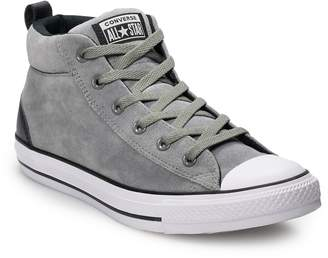 Converse Men's Chuck Taylor All Star Street Mid Suede Sneakers