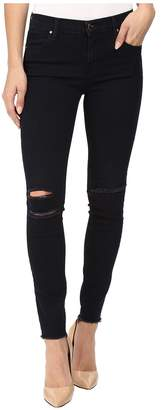 J Brand Ankle Mid-Rise Skinny in Blue Mercy Women's Jeans