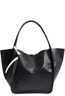 Proenza Schouler Large Calfskin Leather Tote