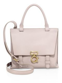 Derek Lam 10 Crosby Mini Ave Leather Crossbody Bag $650 thestylecure.com