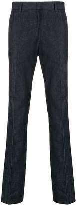 Calvin Klein side stripe straight leg jeans