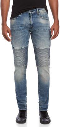 PRPS Femur Moto Tapered Skinny Jeans