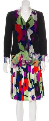 Chanel Wool & Silk Skirt Suit