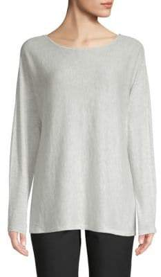 Saks Fifth Avenue BLACK Classic Boatneck Pullover