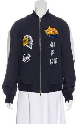 Stella McCartney 2016 Embroidered Varsity Jacket