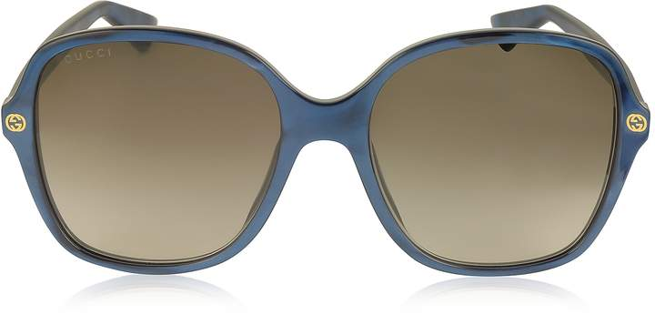 Gucci GG0092S Acetate Square Women's Sunglasses