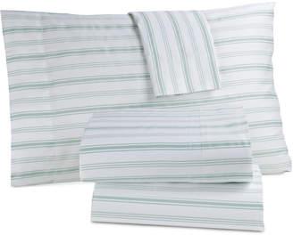 Westport Closeout! Panama Jack Cotton 300 Thread Count 4-Pc. Coastal-Print Full Sheet Set Bedding