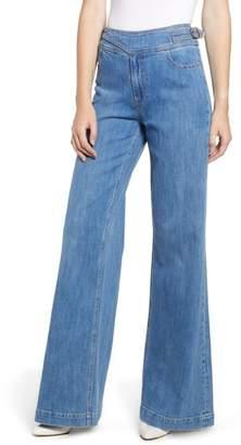 Paige Vintage Sutton High Waist Flare Jeans
