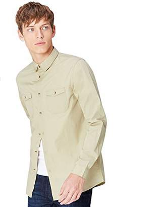 Off-White FIND Men's Utility Shirt, Brown